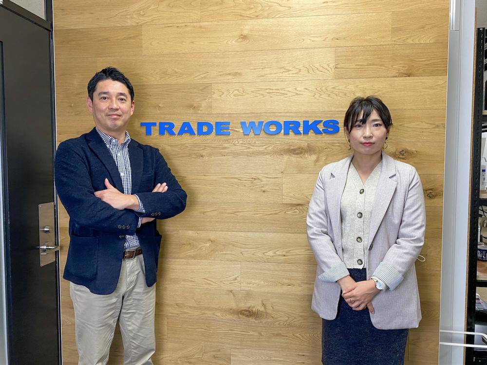 VAPE STUDIOの公式サイトの運営に携わる株式会社トレードワークス ECマーケティング部 オンラインマーケ課の小谷瀬様と渡辺様