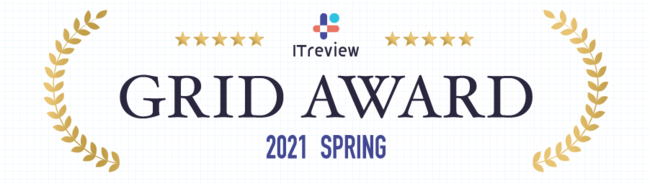 ITreview Grid Award 2021 Spring